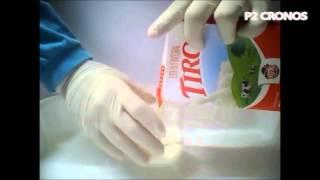 O que acontece quando misturamos leite e refrigerante (What happens when you mix milk and soda)