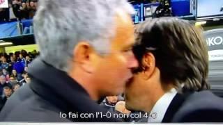 مورينيو غاضباً لكونتي  احتفل بالـ1 0 وليس بالـ4 0 .. أمر مذل  - الأهلي.كوم