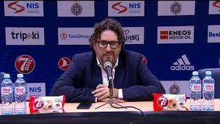 Konferencija Andree Trinkijerija Nakon Pobede nad Lokomotivom   SPORT KLUB KOŠARKA