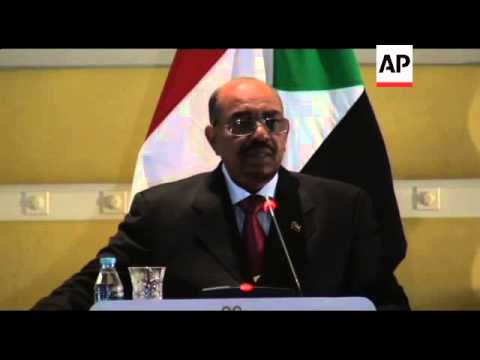 Sudan President Bashir thanks Libyan rebels for ousting Gadhafi