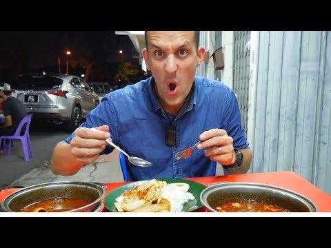 Trying ASAM PEDAS in MELAKA- Melaka Famous Food | Food and Travel Channel | Melaka, Malaysia