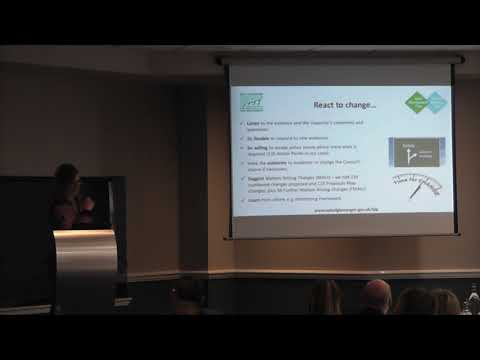 Vicky Robinson - LDP Examination in 2017: Lessons Learned