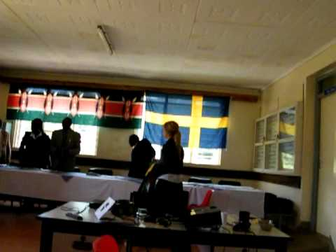 Tele-audiolog clinic in Kenya - Ceremony