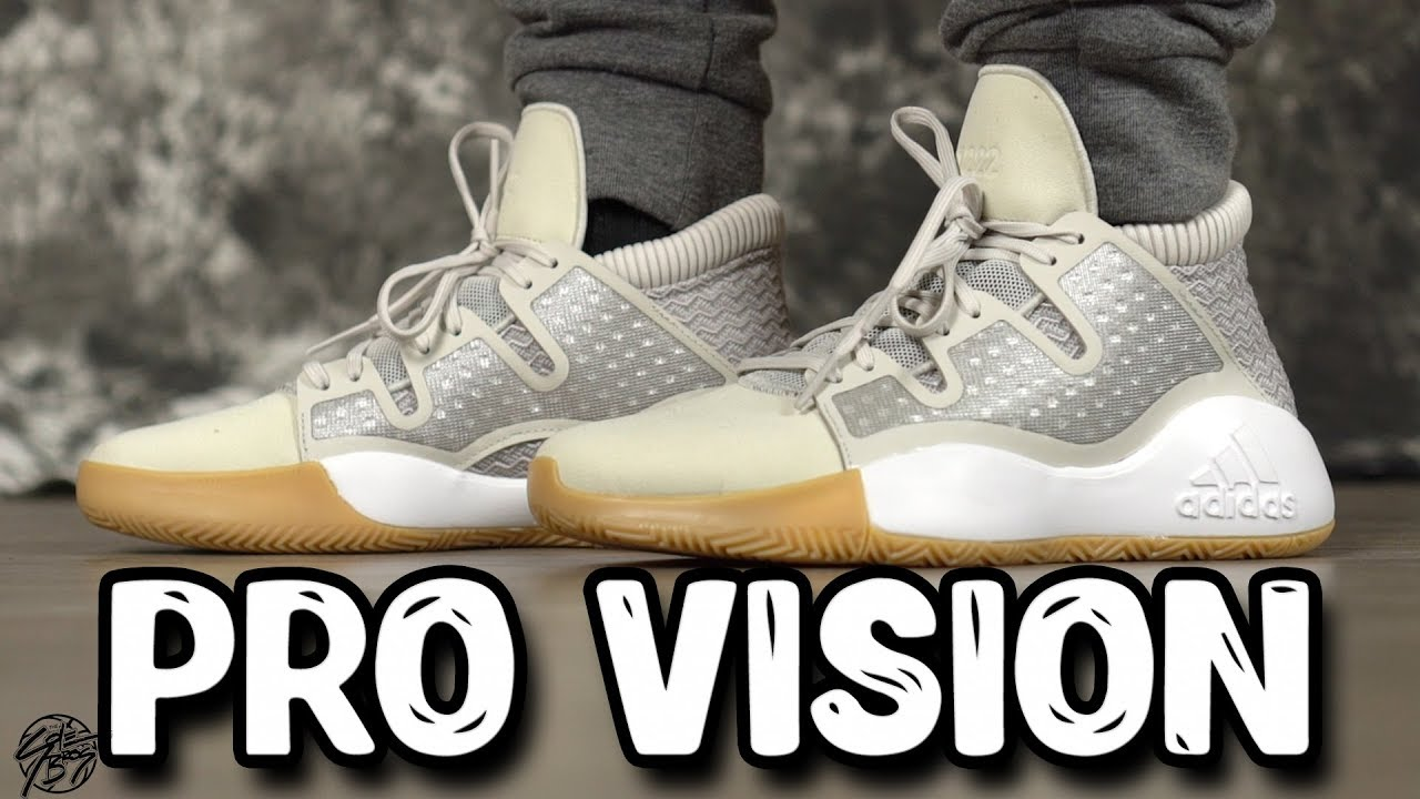 d8d8b5d7319d Adidas PRO VISION First Impressions!  100 w  Bounce Cushion! - YouTube
