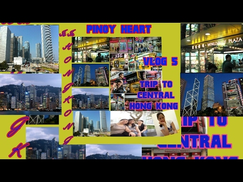 TRIP TO WORLD-WIDE PLAZA CENTRAL HONG KONG ( VLOG 5 )
