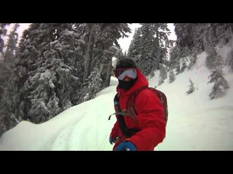 SESSIONS Team Rider Nick Ennen: First Day of Shredding & Sledding 2011
