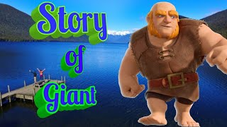 Story of Giant in Clash of clans in hindi