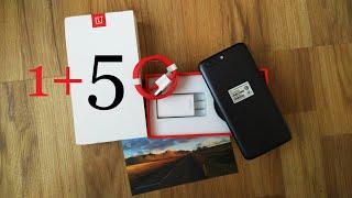 Проверенный продавец OnePlus 5. Ленивая распаковка 1+5