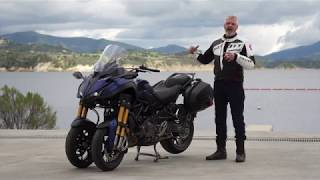Essai Yamaha Niken GT 2019 Californie - Moto Journal