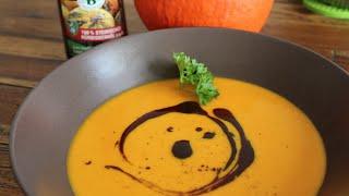 Kürbissuppe - fruchtig, schnell, gesund, vegetarisch und lecker !