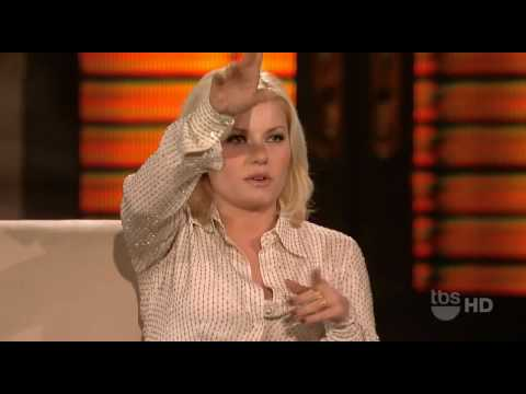 Elisha Cuthbert on Lopez Tonight 27th January 2010