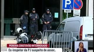 Paulo Pereira Cristóvão interrogado por juiz de instrução