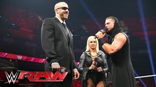 """Miz TV"" with special guest Cesaro: Raw, April 18, 2016"