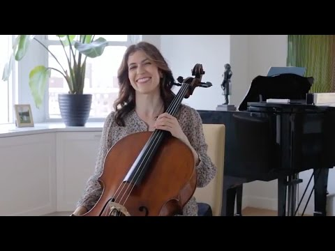 Bach Masterclass: Sarabande From Suite No. 5 - Musings With Inbal Segev
