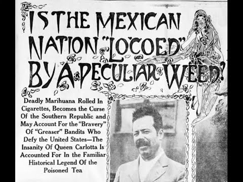 """Chronicling America: 1915: Mexicans Smoking Marijuana would """"Annex the United States"""""""