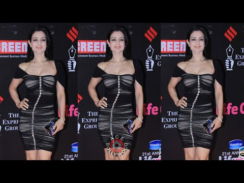 Beautiful  Amisha Patel  at Screen Awards thumbnail