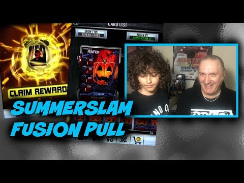 SummerSlam 17 Fusion Pull : WWE SuperCard S3 Ep126