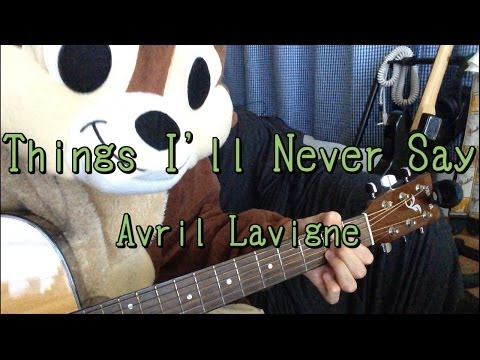 Things I Will Never Say Ukulele Chords Avril Lavigne Khmer Chords