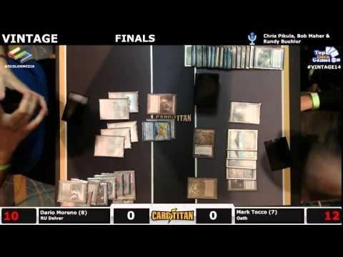 Vintage Champs FINALS Dario Moreno (UR Delver) vs Mark Tocco (Oath)