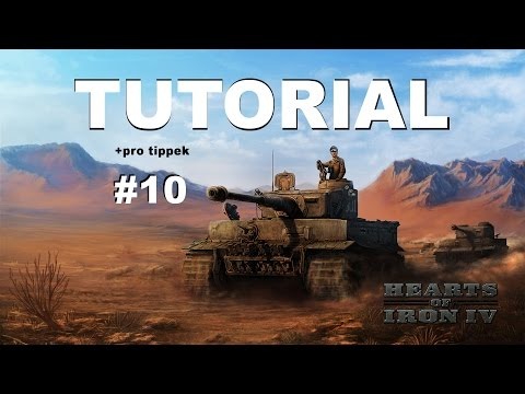 Hearts of Iron IV - Tutorial ( battle plans + taktikák + special forces)