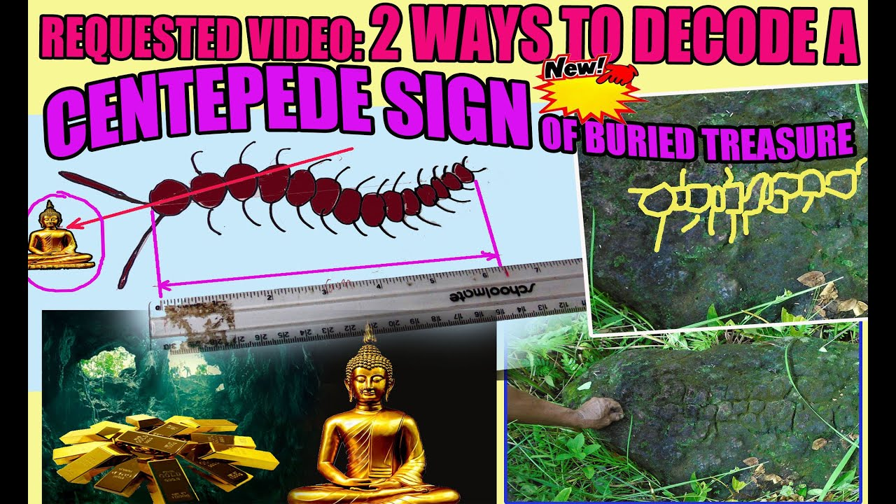 HOW TO DECODE CENTIPEDE SIGN IN TREASURE