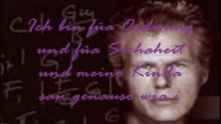 I bin a Kniera Georg Danzer