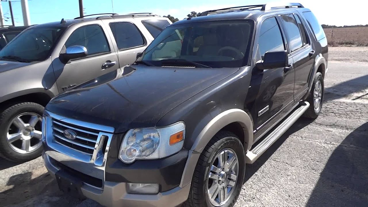 2007 Ford Explorer Ed Bauer Review