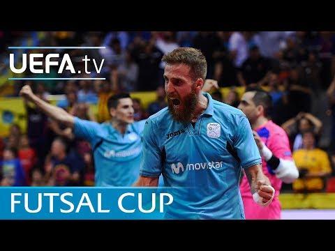Futsal Cup highlights: Inter v Barcelona