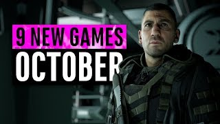 9 New Games Arriving In October 2019 (including 2 Free Games)