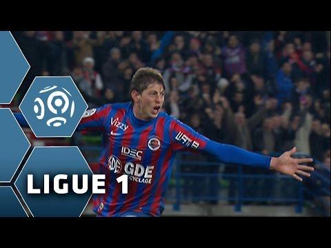 But Emiliano SALA (35') / SM Caen - RC Lens (4-1) -  (SMC - RCL) / 2014-15