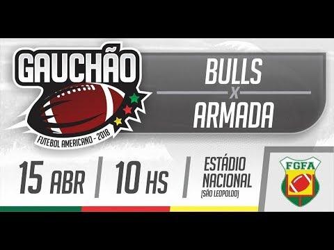 10c2836403 Campeonato Gaúcho 2018 - Canoas Bulls x Armada Futebol Americano ...