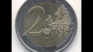 Обзор монеты Франции 2 EURO 1999 года выпуска!!!(Монета регулярного чекана., 2016-04-14T18:53:11.000Z)