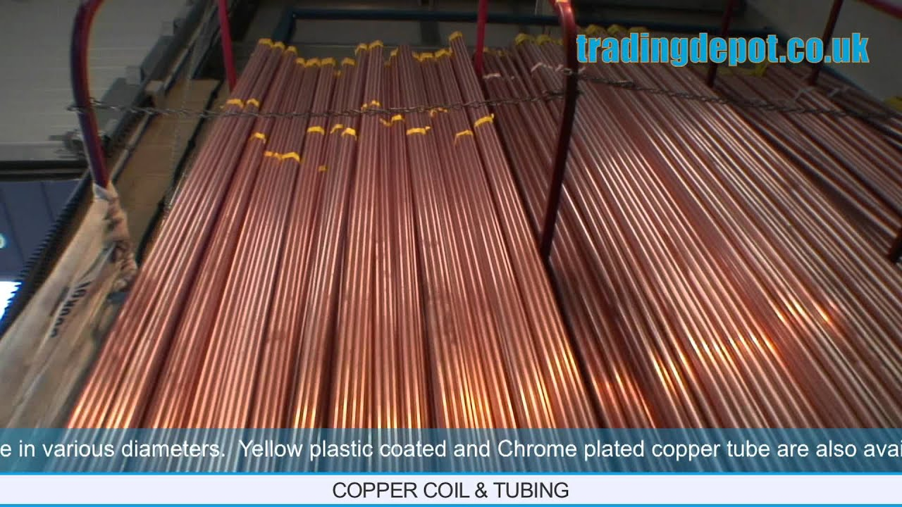 Chrome Plated Copper Tube 15mm x 3m