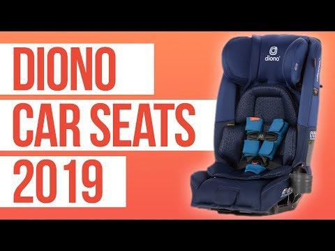 Diono 3RXT & 2AXT Convertible Car Seats 2019   First Look