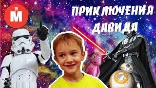 Игрушки из Звездных войн ДАРТ ВЕЙДЕР ПОХИЩАЕТ BB8 Видео для детей ЗВЕЗДНЫЕ ВОЙНЫ ИГРУШКИ STAR WARS