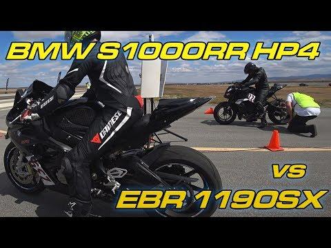 BMW S1000RR Vs EBR 1190SX