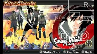 Suigetsu Mod Sasuke || Naruto Shippuden Ultimate Ninja Impact