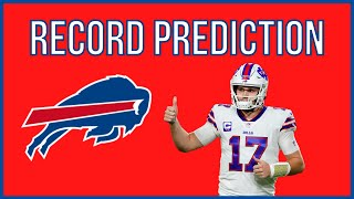 Buffalo Bills 2021 Record Prediction And Schedule Preview