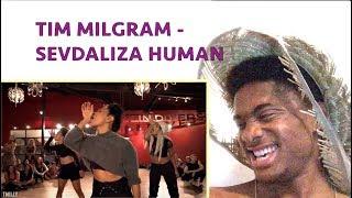 SEVDALIZA - HUMAN - Choreography by Galen Hooks - Filmed by TimMilgram ALAZON EPI 186 REACTION