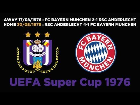 Classic : UEFA Super Cup 1976   RSCA 4-1 FC Bayern München