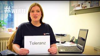 #TeileUnsereWerte - Was bedeutet Toleranz für dich?