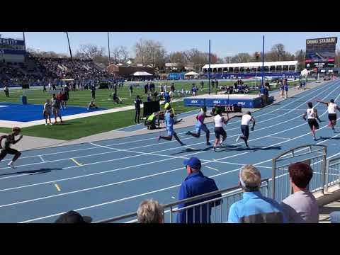 2018 Drake Relays High School Boys 4x100 Relay Final