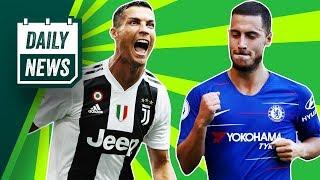 Ronaldo scores Juventus goals, Douglas Costa MADNESS, Zlatan scores 500! ► Daily Football News