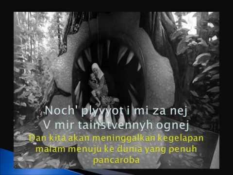 Lullaby by Aida Nikolaychuk with lyric n translation in Malay n English