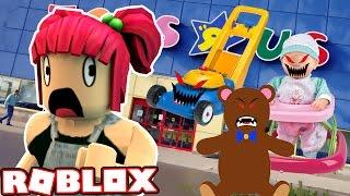 BÖSE SPIELZEUGE MICH TÖTEN! | Escape ToysRus Obby! Roblox! | Amy Lee33