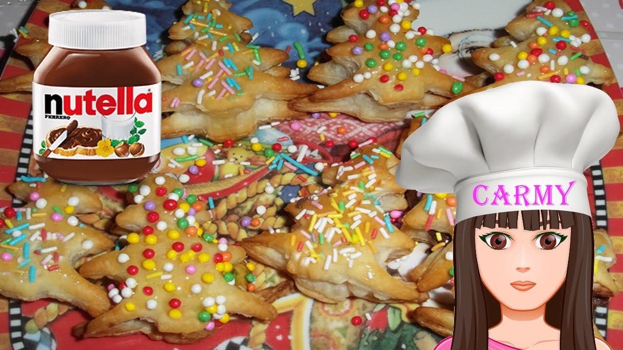 Dolci Di Natale Con Pasta Sfoglia.Ricetta Veloce Alberelli Di Natale In Pasta Sfoglia