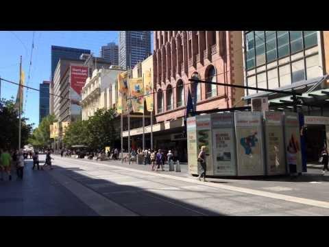 Melbourne Bourke Street Mall