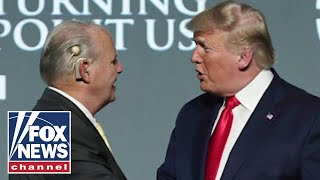 Trump reacts to Rush Limbaugh's death on Fox News: 'He is a legend'