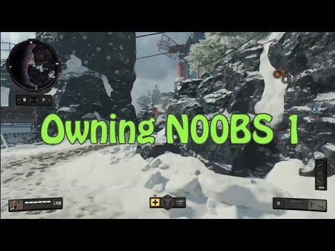 BLACK OPS 4 NINJA MONTAGE #1 - OWNING NOOBS 1 (Tbagging, Secret Santa, Funny Ninja Moments)