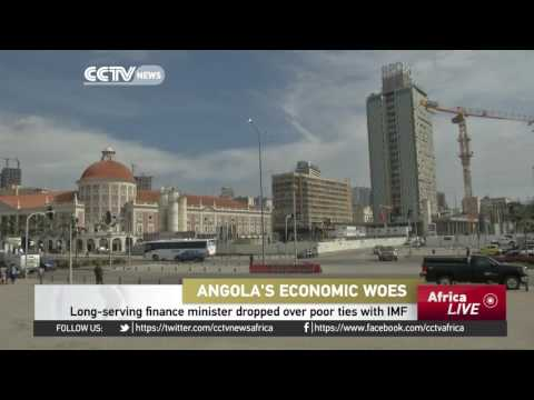 Angola's long-serving finance minister sacked over poor ties with IMF